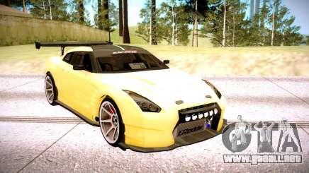 Nissan GT-R BenSopra para GTA San Andreas