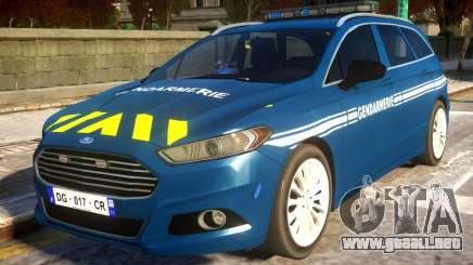 Ford CMax 2013 Gendarmerie Nationale para GTA 4