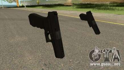 PUBG Glock 18C para GTA San Andreas