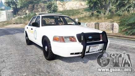 Ford Crown Victoria State Trooper CVPI [replace] para GTA 5