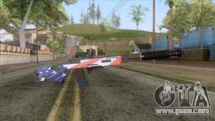 The Doomsday Heist - Sniper Rifle v2 para GTA San Andreas