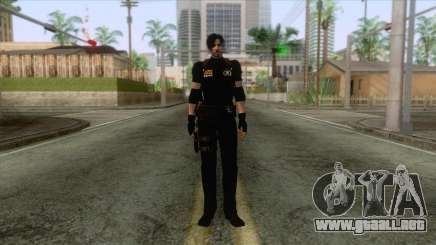 Leon Intel Cop Skin 1 para GTA San Andreas