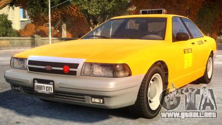 Vapid Stanier 2th gen Taxi para GTA 4