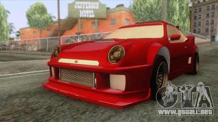 GTA 5 - Vapid GB200 para GTA San Andreas