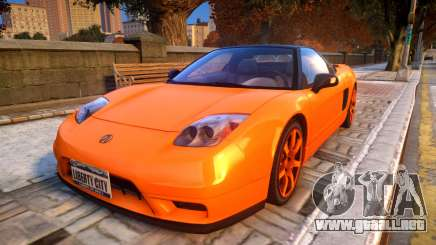 2004 Acura NSX NA2 para GTA 4