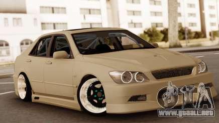 Toyota Altura, plata para GTA San Andreas