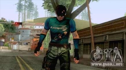 Masked Leon Skin v4 para GTA San Andreas