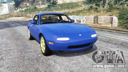 Mazda MX-5 (NA) 1997 v1.1 [replace] para GTA 5