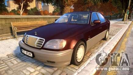 1999 Daewoo Chairman CM600S para GTA 4