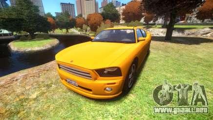 Bravado Buffalo Standard V6 para GTA 4