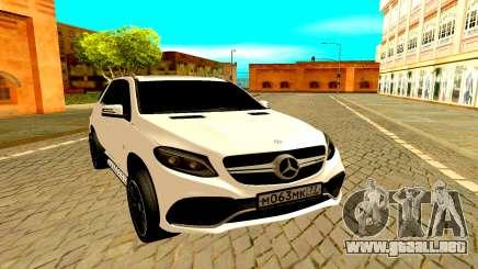 Mercedes-Benz GLC para GTA San Andreas
