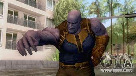 Marvel Future Fight - Thanos (Infinity War) para GTA San Andreas
