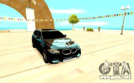 BMW M5 F11 para GTA San Andreas left