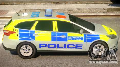 Police Ford Focus Estate IRV V.1 para GTA 4
