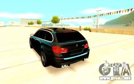 BMW M5 F11 para la visión correcta GTA San Andreas