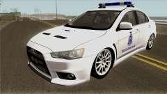 Mitsubishi Lancer Evolution X Malaysia Auxiliary para GTA San Andreas
