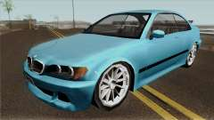 BMW E46 Low-Poly para GTA San Andreas