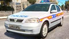 Met Police 2004 Astra Mk4 para GTA 4