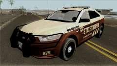 Ford Taurus 2013 Bone County Police para GTA San Andreas