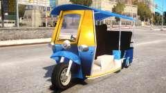 Tuk Tuk Taxi para GTA 4