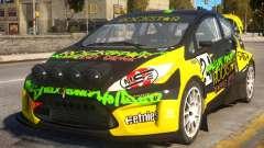 Ford Fiesta Rallycross (DiRT3) para GTA 4
