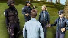El Croata Agentes De La Policía Pack para GTA San Andreas