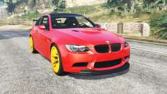 BMW M3 GTS (E92) 2010 red taillight [add-on] para GTA 5