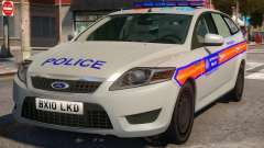 Ford Mondeo Dog Section Metropolitan Police para GTA 4