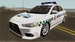 Mitsubishi Lancer Evolution X Malaysia Police para GTA San Andreas