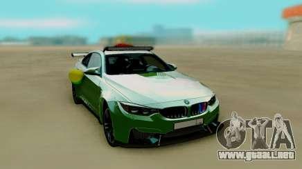 BMW M4 F82 de la Boda para GTA San Andreas