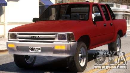 Toyota Hilux para GTA 4