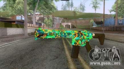 Gunrunning Carbine Mk.2 Revelations Camo v1 para GTA San Andreas