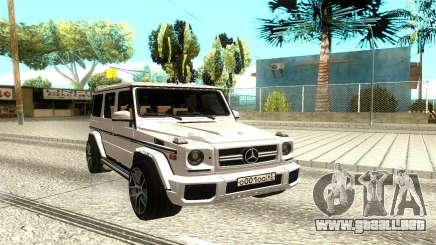 Mercedes-Benz G63 AMG para GTA San Andreas