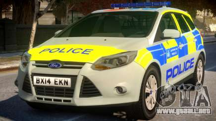 Police Ford Focus Estate IRV para GTA 4