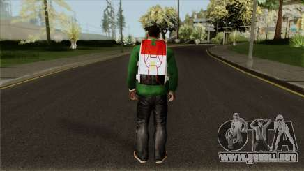 New Egyptian Parachute para GTA San Andreas
