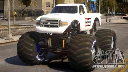 Monster Truck V.1 para GTA 4