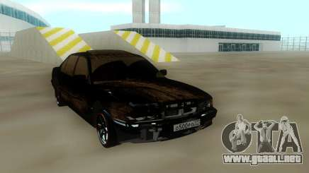 BMW 750 Damaged para GTA San Andreas