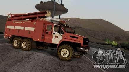Ural Next Firetruck para GTA San Andreas