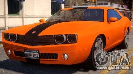 Bravado Gauntlet Sport Rims para GTA 4