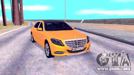 Mercedes-Benz Maybach W222 para GTA San Andreas