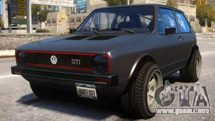 VW Golf GTI Turbo para GTA 4