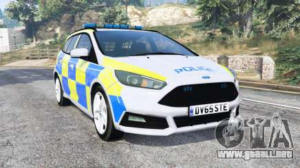 Ford Focus ST Turnier (DYB) Police [replace] para GTA 5