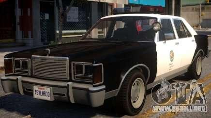 Marbella Police ELS para GTA 4