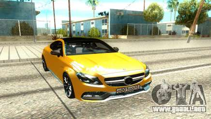 Mercedes-Benz AMG C63 para GTA San Andreas