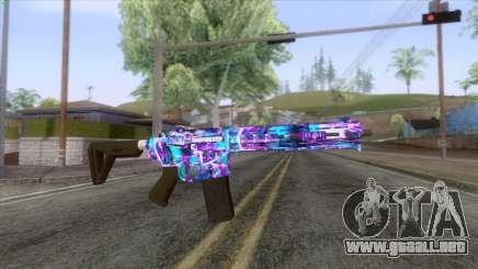 Gunrunning Carbine Mk.2 Revelations Camo v2 para GTA San Andreas