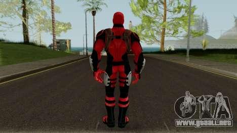 Deadpool Strike Force para GTA San Andreas tercera pantalla