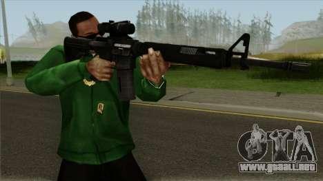 M4AR15 ACOG para GTA San Andreas