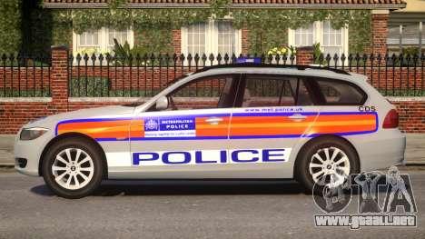 Metropolitan BMW 3 Series para GTA 4 left