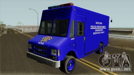 RPD Van Swat RE3 para GTA San Andreas