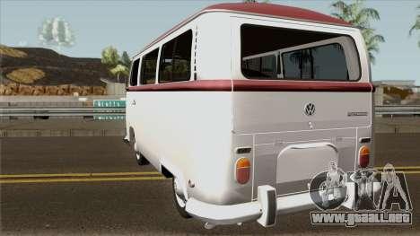 Volkswagen Kombi para GTA San Andreas